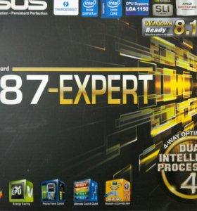 Материнская плата Asus Z87-Expert LGA1150