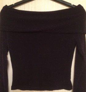 Красивая блузка с люрексом