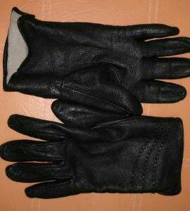 Кожаные перчатки 7,5