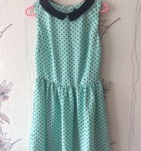 Платье в горошек BeFree 36 размер