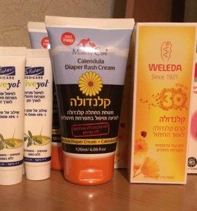 Детские крема из Израиля