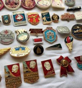 Значки советские