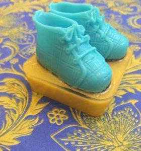 Мыло в виде ботинок