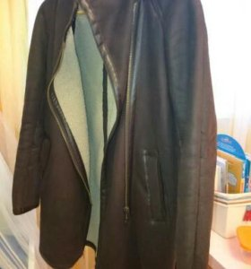 Пальто под дубленку mango
