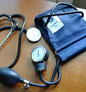 Прибор для измерения артериальное давления