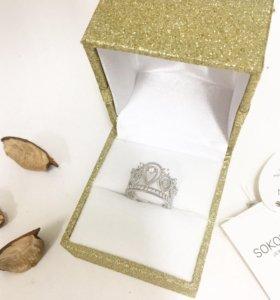 Корона кольцо SOKOLOV