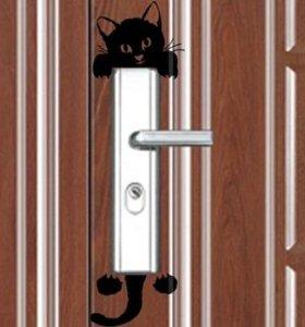 Наклейка-котик