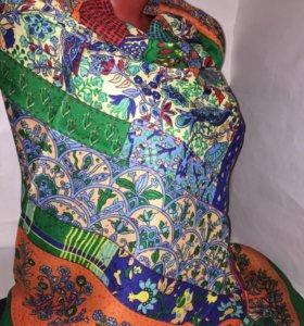 Новый платок тёмный и мягкий