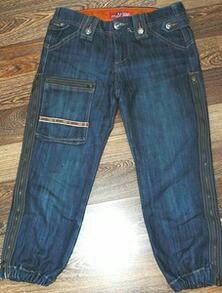 Бриджи р.29 (44-46) джинсовые