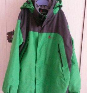 Куртка 2в1 с флисовой подстежкой 140-146