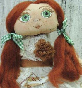 Кукла ручной работы 25см