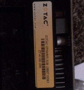 Видеокарта  GTX650-Ti