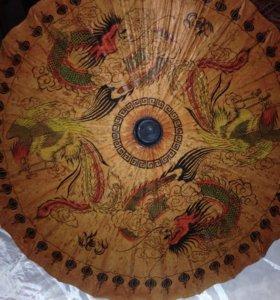 Зонт декоративный для интерьера
