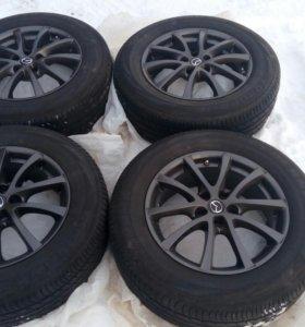Комплект новых оригинальных колес на Mazda CX-5
