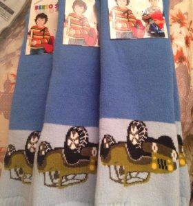 3 пары носков для мальчиков с машинками