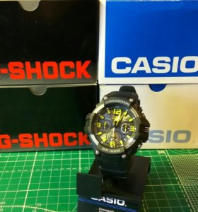 Новые часы CASIO MCW-100H-1AVCF