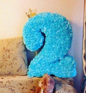 Цыфра 2 для декора