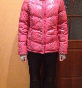 Зимний костюм: куртка, штаны болоньевые