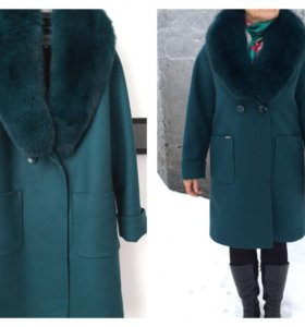 Новое зимнее пальто на 50 р-р