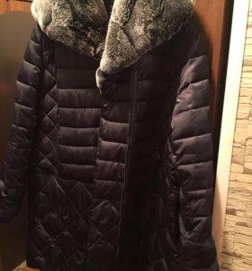 Куртка - пуховик большого размера