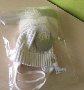 Брендовая Choupette шапка может для новорождённых