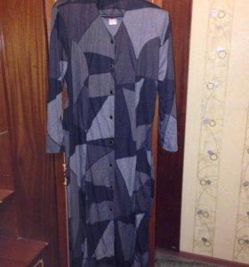 Платье- халат трикотаж