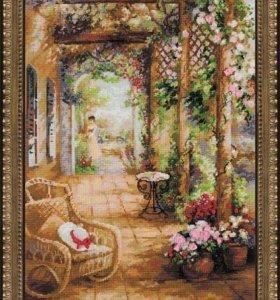 """Набор для вышивки """"Свидание в саду"""", Риолис"""