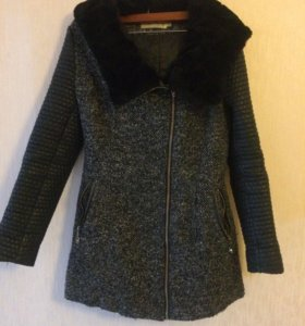 Демисезонное пальто в хорошем состоянии, размерM-L