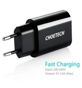 Зарядка 5v USB   до  2.4 A