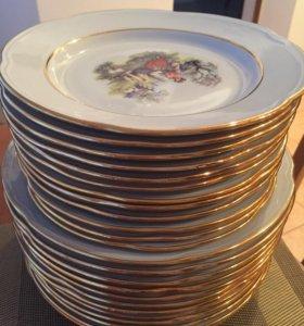 Набор тарелок 24 шт