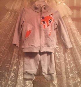 Новый детский костюм зимние