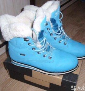 Зимние ботинки р.39