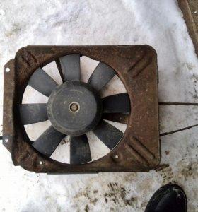 Вентилятор охлаждения ваз 2107