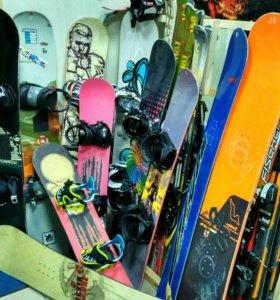 Тест-драйв сноубордов + продажа