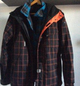 Куртка Ride сноубордическая с рубашкой