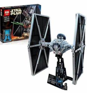 Аналог Lego Star War Истребитель Tie Fighter 75095