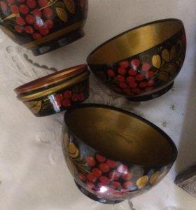 Чашки хохлома