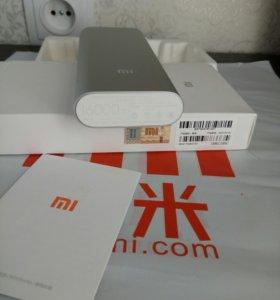 Портативная зарядка xiaomi power bank 16 000 mah