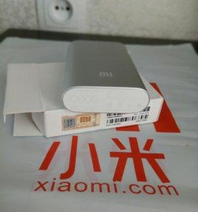 Портативная зарядка xiaomi power bank 10 000 mah