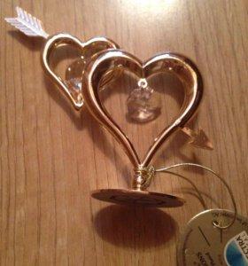 Золотые сердца, новый сувенир