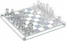 Шахматы стеклянные (мал)