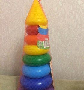 Детская игрушка Пирамида новая