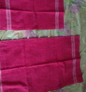 Новый набор из махровых полотенец