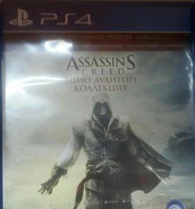 Assassins Creed Ezio трилогия ps4 playstation 4