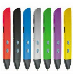 3D ручка 4-го поколения RP600A + набор пластика