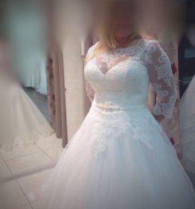 Новое свадебное платье!!!