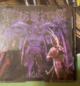 Cradle of filth. Midian.