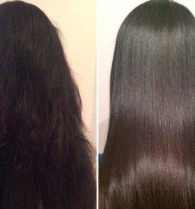 Ламинирование волос с эффектом ботекса