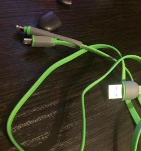 USB провод для iPhone и Samsung