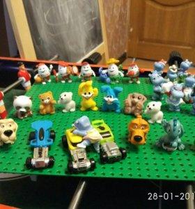 Игрушки из киндерп